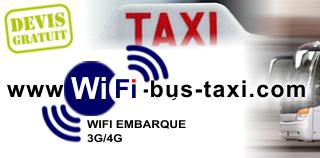 wifi bus taxi bateau